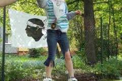 Sportovní vyžití dětí během odpoledne v zahradě RMP
