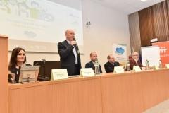 zleva: Bc. Radka Švejnohová, PaedDr. Zdeněk Moldrzyk, Mgr. et Mgr. Lukáš Curylo, Mgr. Daniel Rychlik, Vladislav Sobol (zahájení konference)
