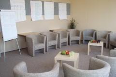 místnost pro vzdělávání a přípravy žadatelů o NRP